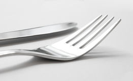 Artistic cutlery Royalty Free Stock Photos