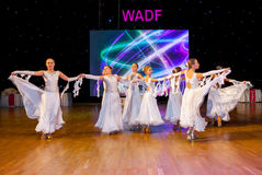 Artistic Dance European Championship WADF Royalty Free Stock Photos