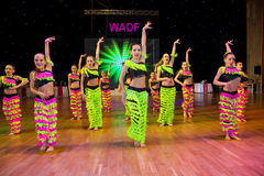 Artistic Dance European Championship WADF Stock Images
