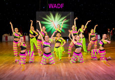 Artistic Dance European Championship WADF Royalty Free Stock Photography