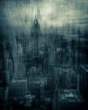 Artistic Dark NYC Stock Photography