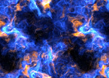 Artistic deep outer space scene. Great artistic space nebula and star scene Royalty Free Stock Photography