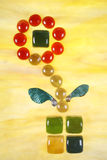 Artistic depiction of flower Stock Image