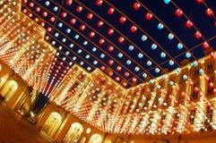 artistic diagonal lights Στοκ φωτογραφία με δικαίωμα ελεύθερης χρήσης
