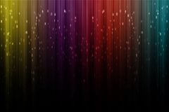 Artistic digital aurora borealis royalty free stock image