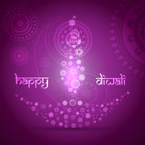 Artistic diwali background. Stylish artistic happy diwali vector background design