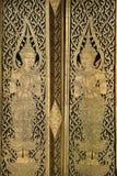 Artistic Door at Wat Pho Stock Photos