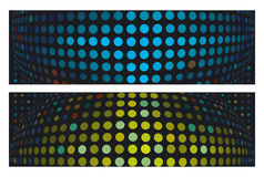 Artistic dot backgrounds Royalty Free Stock Photography