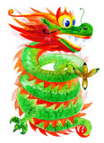 Artistic dragon Stock Image