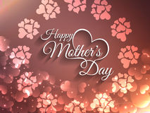 Artistic elegant card design for Mother's day Stock Photo