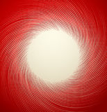 Artistic element with radial, circular lines. Radiating, concent. Ric lines forming circular pattern - Royalty free illustration royalty free illustration