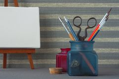 Artistic equipment royalty free stock image