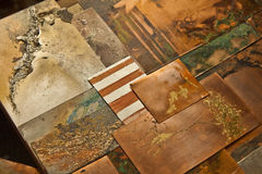 Artistic Expression in Copper Stock Images