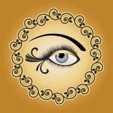 Artistic eye Stock Images