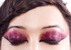 Artistic Eye Make Up Royalty Free Stock Photo