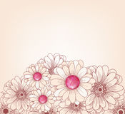 Artistic floral background Royalty Free Stock Image