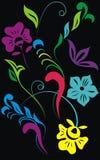 Artistic Floral Design. Stock Image