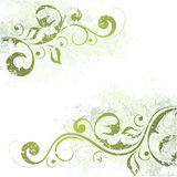 Artistic floral motif Royalty Free Stock Photos