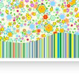 Artistic flower background Stock Image