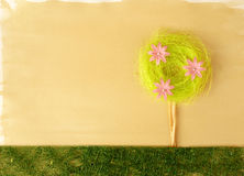 Artistic flower decoration Royalty Free Stock Photos
