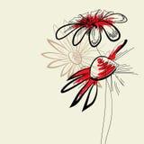 Artistic flowers Stock Photos