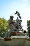 Artistic fountain Stock Photo