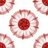 Artistic fractal background vector illustration