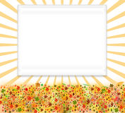 Artistic frame background Royalty Free Stock Photography