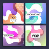 Funky design template fot print products. Royalty Free Stock Photography