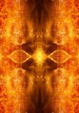 Abstract religious artistic fiery energetic artwork as a unique background. Artistic glowing fiery energetic pattern artwork as a unique background vector illustration