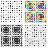 100 artistic guidance icons set vector variant. 100 artistic guidance icons set vector in 4 variant for any web design isolated on white Royalty Free Stock Images