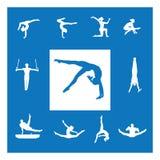 Artistic gymnastics Royalty Free Stock Photos