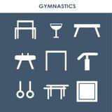 Artistic gymnastics equipment Royalty Free Stock Photography
