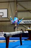 Artistic Gymnastics International Competition Royalty Free Stock Photography