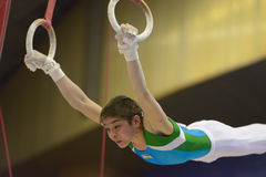 Artistic Gymnastics Stock Images