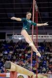 Artistic Gymnastics Royalty Free Stock Photo
