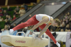 Artistic Gymnastics Stock Photo
