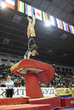 Artistic Gymnastics Royalty Free Stock Images