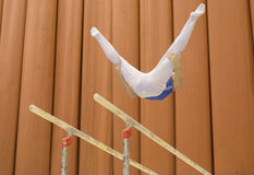 Artistic Gymnastics Royalty Free Stock Photography