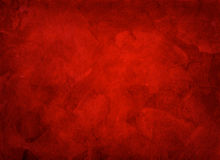 Artistic hand painted multi layered red background Stock Photography