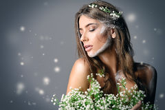 Artistic hippie style Royalty Free Stock Images