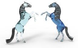 Artistic horses Stock Photo
