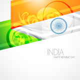 Artistic indian flag Royalty Free Stock Photo