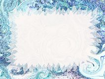 Artistic invitation. Abstract fancy invitation with easy editable blank area Stock Image