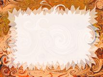 Artistic invitation Royalty Free Stock Photo