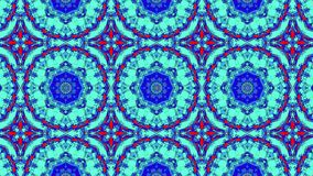 Artistic kaleidoscopic color pattern. 3d rendering with gradient lighting effect Royalty Free Stock Photo