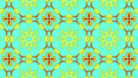 Artistic kaleidoscopic color pattern. 3d rendering with gradient lighting effect Royalty Free Stock Photography