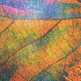 Artistic leaf Stock Image