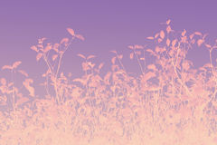 Artistic leaves autumnal background. Violet, pink Stock Photography