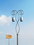 artistic light pole Στοκ Εικόνες